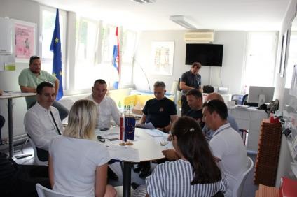 LokalnaHrvatska.hr Zadarska županija Odrzan Work Café na temu zastite i spasavanja u slucaju potresa i pozara u sklopu projekta READINESS