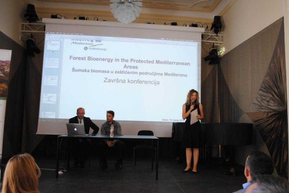 Održana završna konferencija projekta Forest Bioenergy in the Protected Mediterranean Areas – ForBioEnergy